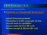 crm principle s a1