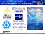 chep environmental charter reducing waste protecting the environment
