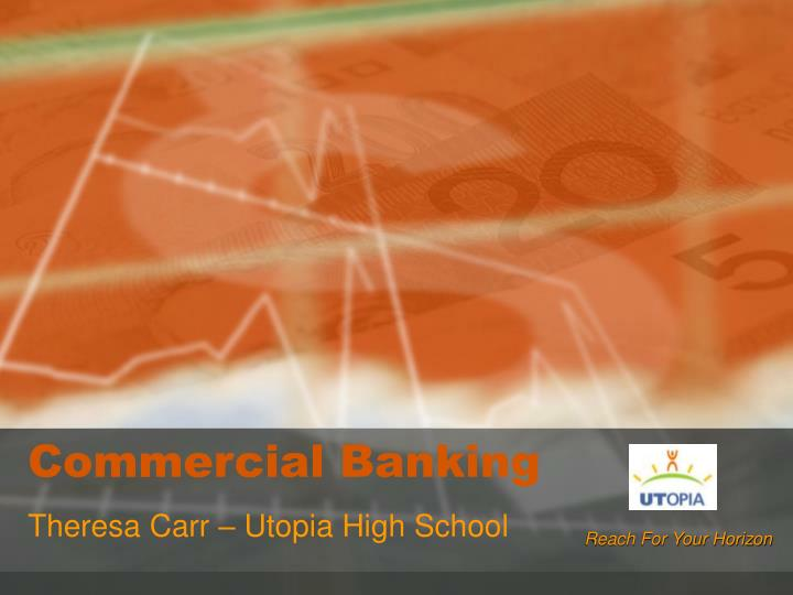 commercial banking n.