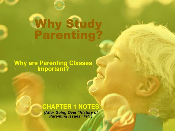 why study parenting n.