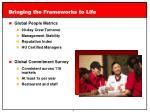 bringing the frameworks to life3