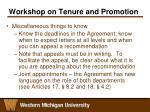 workshop on tenure and promotion10