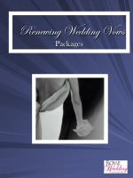 renewing wedding vows packages