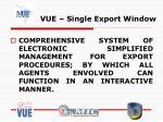 vue single export window