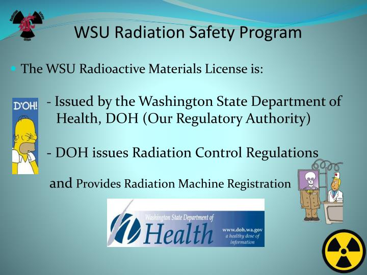 Wsu radiation safety program