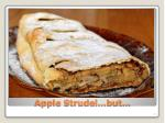 apple strudel but