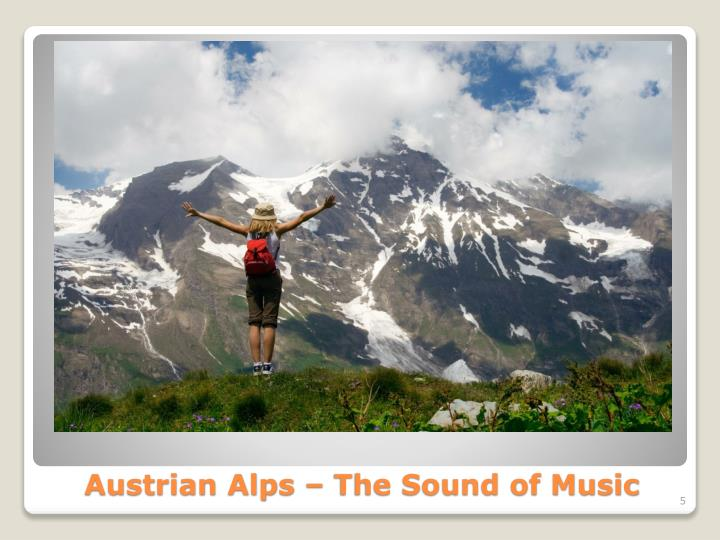 Austrian Alps – The Sound of Music