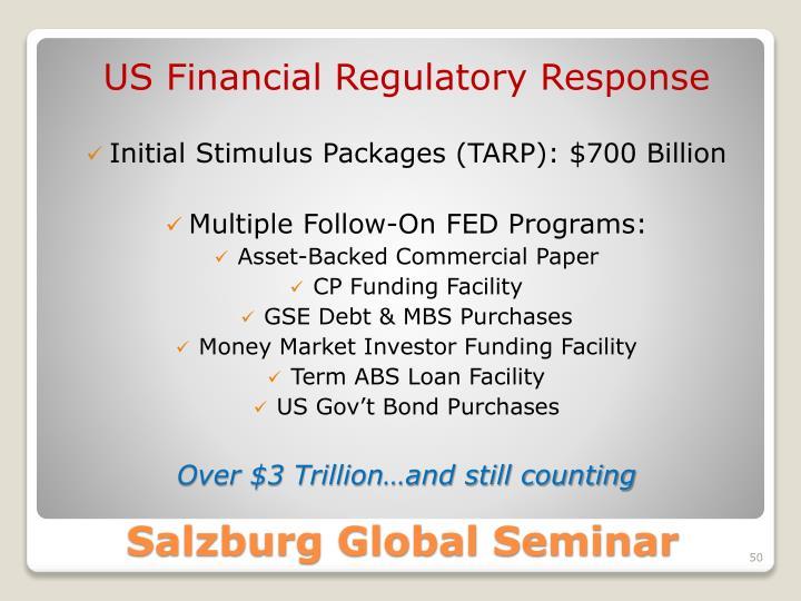 US Financial Regulatory Response