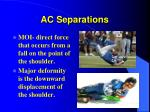 ac separations