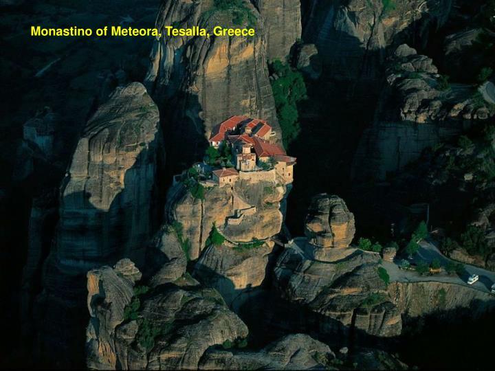 Monastino of Meteora, Tesalla, Greece