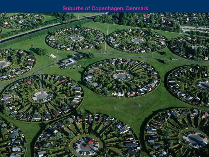 Suburbs of Copenhagen, Denmark