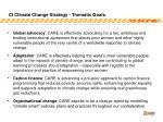 ci climate change strategy thematic goals