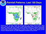 rainfall patterns last 180 days