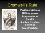 cromwell s rule