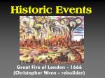 historic events1