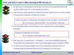 alert and action level in microbiological monitoring 1