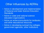 other influences by aeras