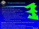 trapezoidalization