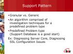 support pattern