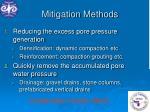 mitigation methods