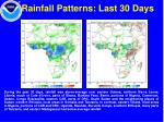 rainfall patterns last 30 days