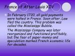 france of after louis xiv2