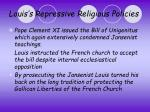 louis s repressive religious policies4