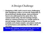 a design challenge