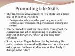 promoting life skills