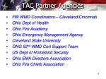 tac partner agencies