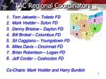tac regional coordinators