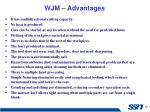 wjm advantages