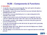 wjm components functions1