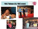 yac taiwan 1 yac event