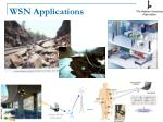 wsn applications