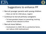 suggestions to enhance pp1