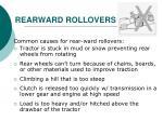 rearward rollovers