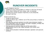 runover incidents
