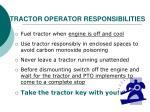 tractor operator responsibilities2