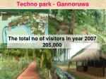 techno park gannoruwa