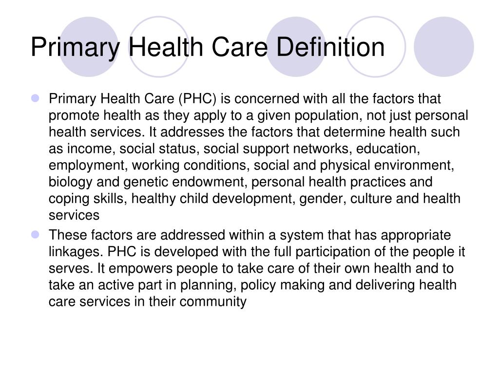 PPT - Primary Health Care Challenges and Opportunities ...
