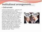 institutional arrangements2