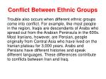 conflict between ethnic groups1