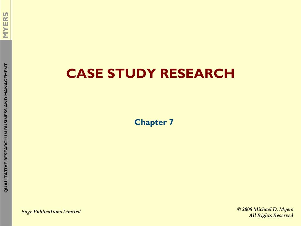 doing case study research