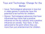 toys and technology change for the better1
