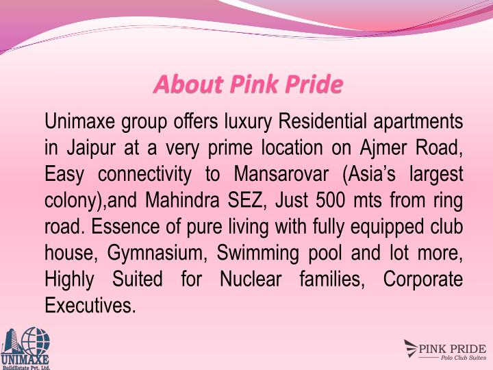 About Pink Pride