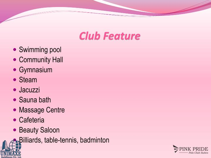 Club Feature