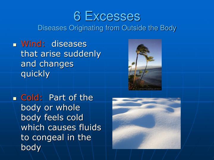 6 Excesses