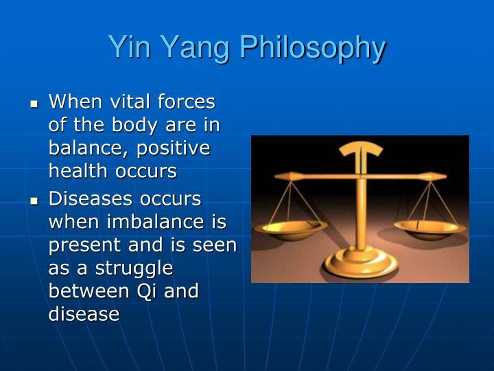 Yin Yang Philosophy
