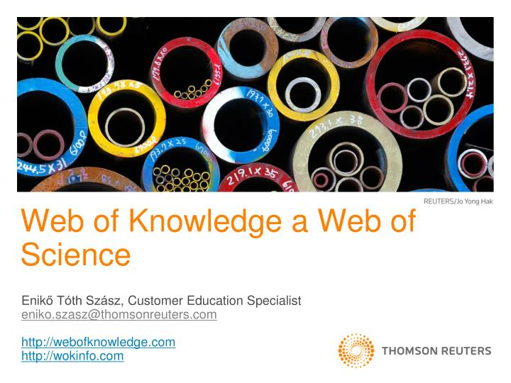 web of knowledge a web of science n.